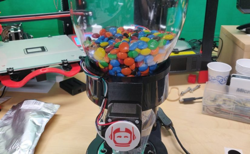 Building an Internet-Connected, AI-driven Candy Dispenser with OutSystems