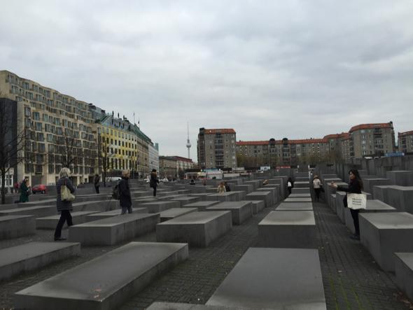 Memorial del Holocausto.