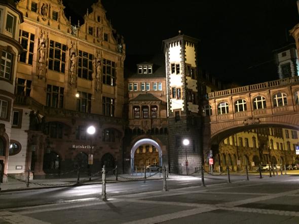 El centro histórico también es muy lindo de noche, aunque la iluminación es un poco baja.
