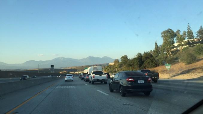 Conduciendo en Los Ángeles