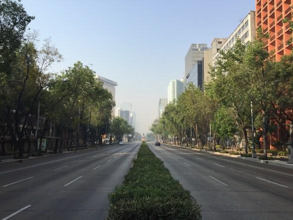 Ciudad de México sin autos