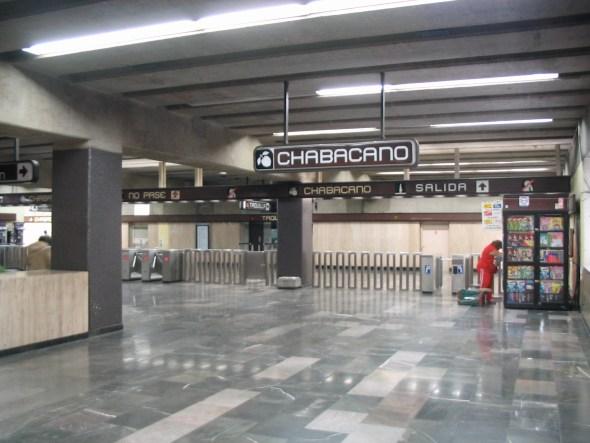metro estación chabacano