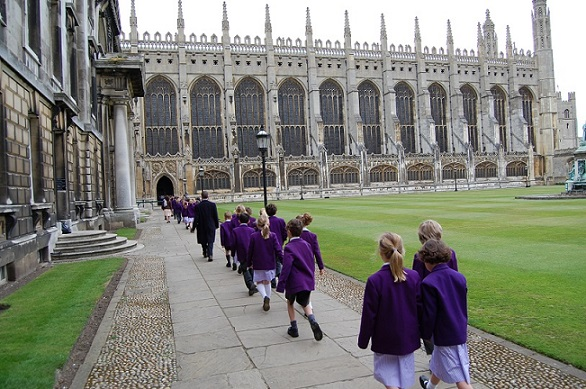 King's College en Cambridge