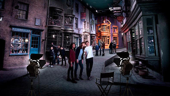 Tour Harry Potter en los estudios de la Warner en Londres