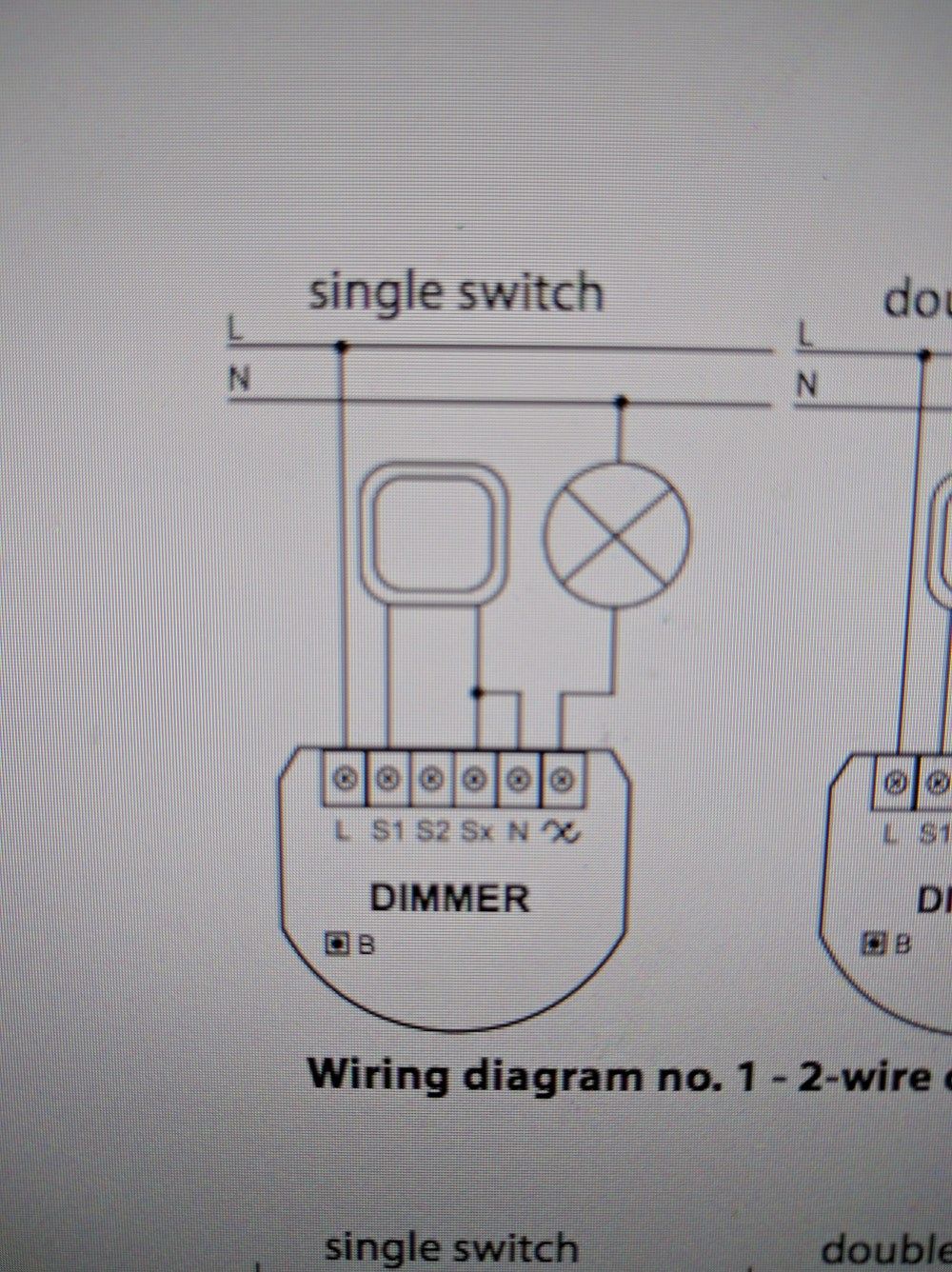 medium resolution of as previously stated i live in an older house that only had 2 wires in the light box the line and load no neutral like you would see in a newer home