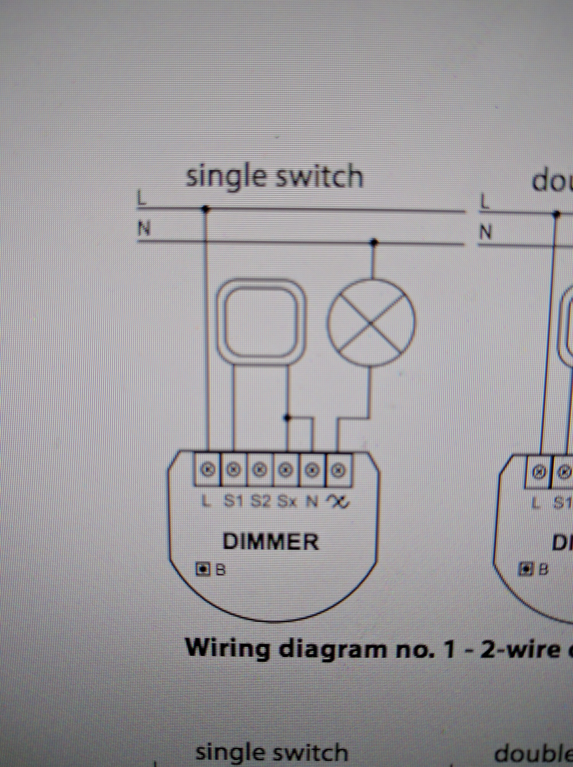 hight resolution of as previously stated i live in an older house that only had 2 wires in the light box the line and load no neutral like you would see in a newer home