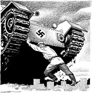 Em 1942, forças alemãs avançando pela União Soviética receberam ordens para capturar Stalingrado, a joia socialista às margens do rio Volga. Defendida até à morte pelos soldados vermelhos, a cidade tornou-se uma armadilha na qual um Exército alemão inteiro acabou esmagado. Stalingrado foi a primeira derrota das forças de Hitler na Frente Oriental, derrota da qual elas nunca se recuperariam