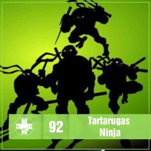 Vitrine MeiaLuaCast Tartarugas Ninja