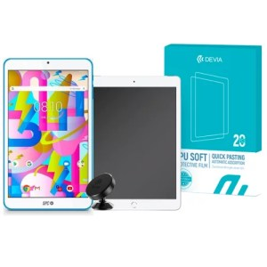 Pack Tablet SPC + 20 Láminas Hidrogel HD Tablet