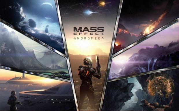 BioWare объявили о выходе Mass Effect: Andromeda