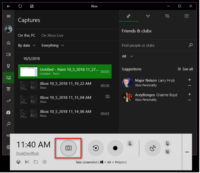 Use Windows 10 Xbox Game DVR To Record Your Screen