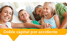 seguros de vida doble capital