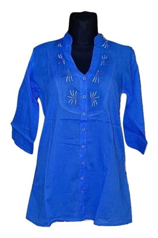 elegáns nyári ingek indiából 100% cotton