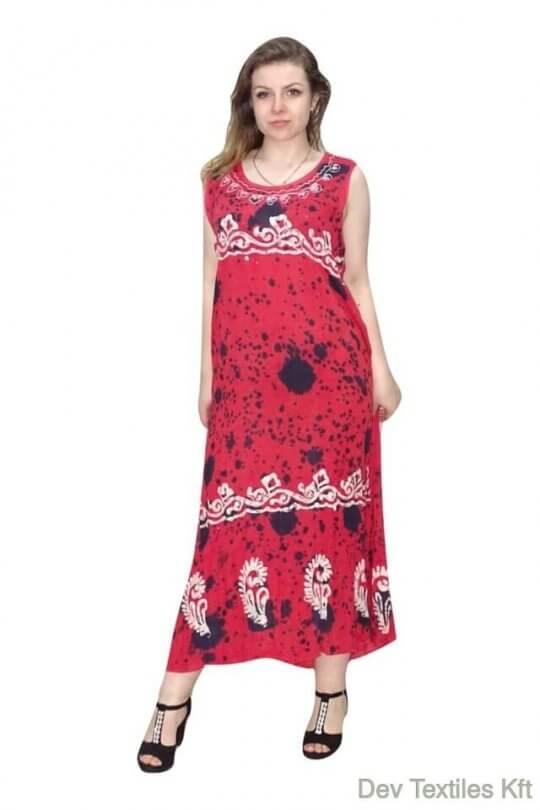 Csinos,lenge hosszú nyári ruha Indiából