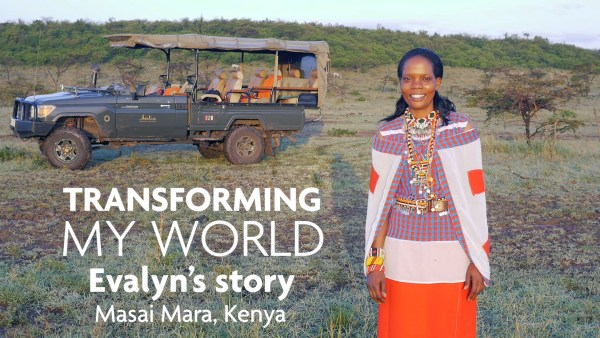 How Tourism Changes Lives Evalyn Sintoyia Mayetu Masai Mara, Kenya