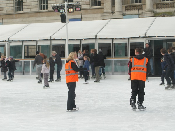 Ice Marshalls at Somerset House