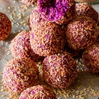 Blackberry Beet Bliss Balls