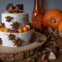 Golden Chai Pumpkin Cake