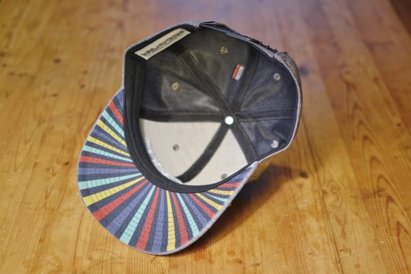 Starstuff ballcap - Oxford grey inside view