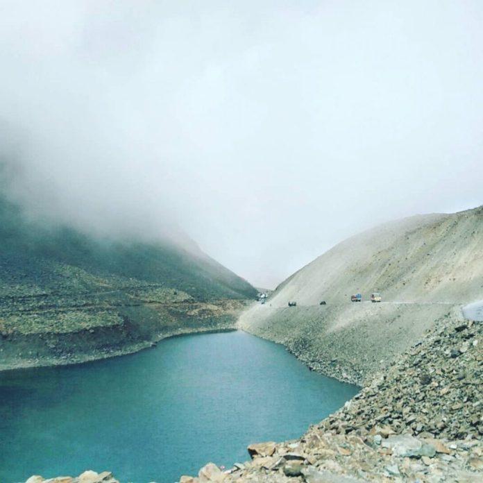 As we passed the Surajtal near Baralacha La Pass