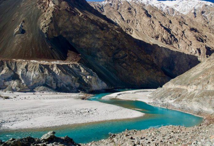 Turtuk and Shyok River