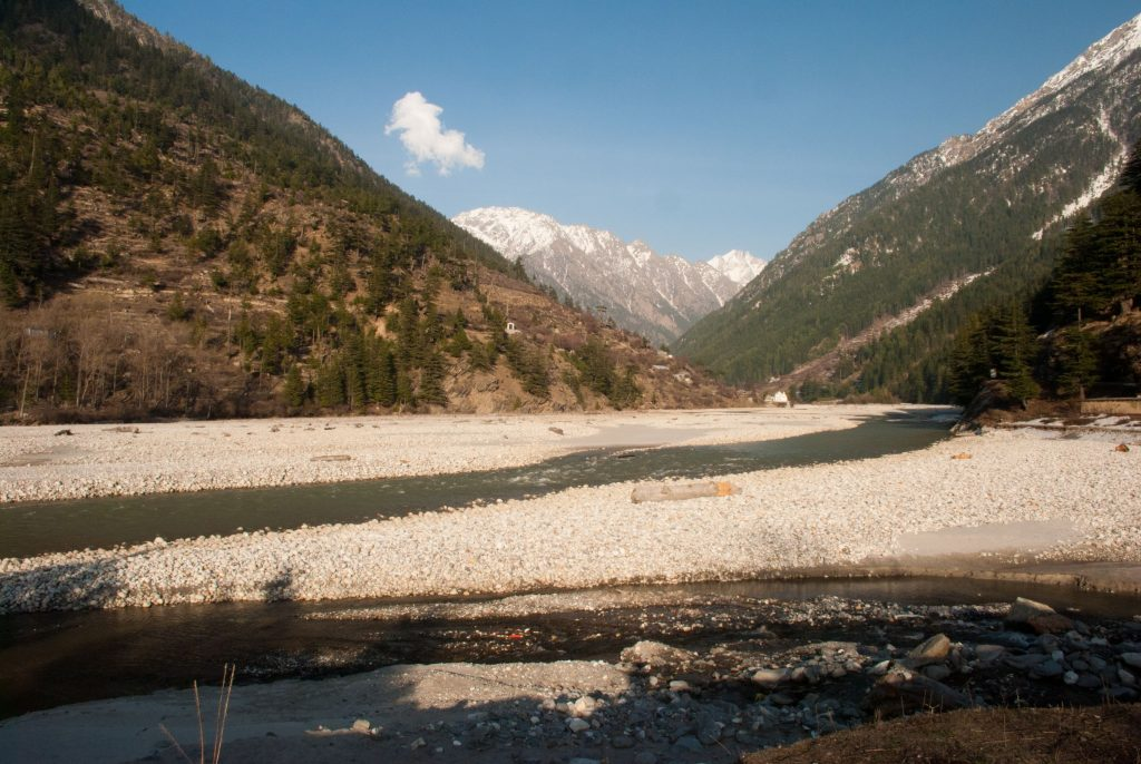 Bhagirathi River in Harsil