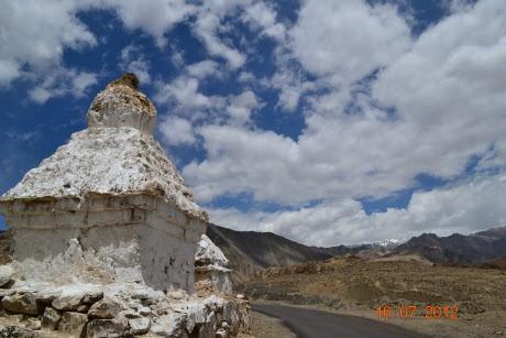 A Chorten in Ladakh