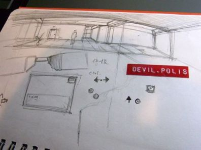 最初的概念草圖