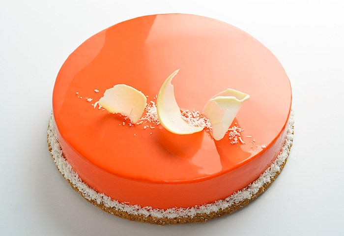 Carrot Cream Cheese Entremet Devils Food Kitchen