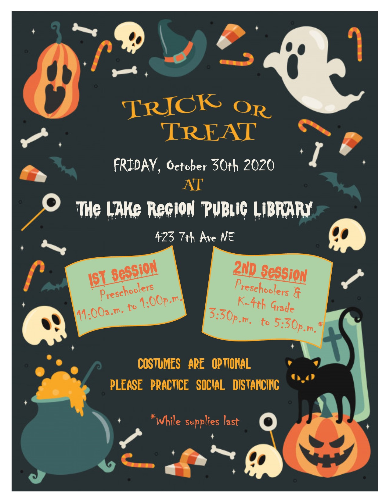 Trick or Treat Event