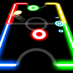 Download Glow Hockey v1.3.9 APK For Android