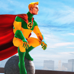 Rope Superhero War : Superhero Games : Rescue Hero v1.0 APK New Version