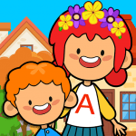 Download My Pretend Home & Family – Kids Play Town Games! v2.7 APK Latest Version