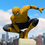 Download Spider Rope Hero – Gangster New York City v1.1.1 APK For Android