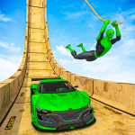 Download Superhero Mega Ramps: GT Racing Car Stunts Game v1.15 APK For Android