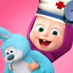 Masha and the Bear: Toy doctor v1.2.3 APK For Android