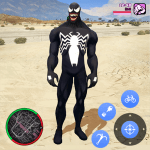 Neon Spider Rope Hero : Vice Town v1.0 APK New Version