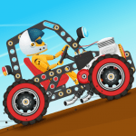 Download Car Builder and Racing Game for Kids v1.3 APK For Android