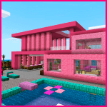 Download Pink house with furniture. Craft maps and mods v1.0.1 APK New Version