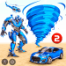 Free Download Tornado Robot Car Transform: Hurricane Robot Games v1.0.5 APK