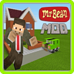 Mod Mr Bean for Minecraft PE Addon v1.0.0 APK Latest Version