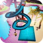 Water Park Craft GO: Waterslide Building Adventure v1.16-minApi23 APK Download For Android