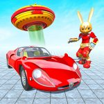 Bunny Jeep Robot Game: Robot Transforming Games v APK For Android