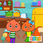 Download Animal Town – My Squirrel Home for Kids & Toddlers v APK