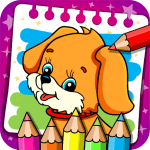 Download Coloring & Learn Animals – Kids Games v1.20 APK For Android