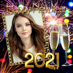 Download Happy New Year 2021 Photo Frames Greeting Wishes v1.0.1 APK Latest Version