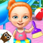 Download Sweet Baby Girl Cleanup 4 – House, Pool & Stable v4.0.10014 APK New Version