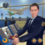 Download Virtual City Police Airport Manager Family Games v3.0.2 APK New Version