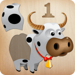 Animals Puzzle for Kids 🦁🐰🐬🐮🐶🐵 v APK Download For Android