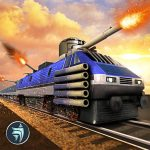Download Police Train Shooter Gunship Attack : Train Games v APK For Android